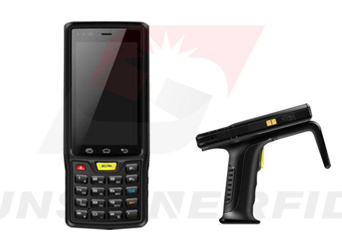 Hand-RFID-Leser Android industriell, 4G-/WIFI-/GPS-Bluetooth RFID Leser Android